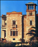 Villa Verderame Bosa, progetto F. Re Grillo